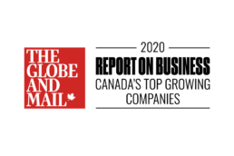 Ookplaces on the 2020 Report on Business ranking of Canada's Top Growing Companies